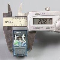 довольно 5 шт. 12 в постоянного тока катушки реле dpdt реле my2nj hh52p-л