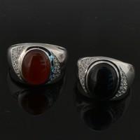 оптовая мужчины кольца/саудовская арабский стили мужчины кольца/большие мужские кольца/серебряное кольцо мужчин
