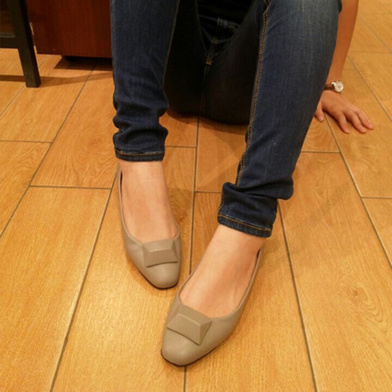 Spring Autumn Fashion Women Flat Shoes Round Toe Slip-On Flat Shoes Comfortable Single Casual Flats Size 33-43 spring summer women flat ol party shoes pointed toe slip on flats ladies loafer shoes comfortable single casual flats size 34 41