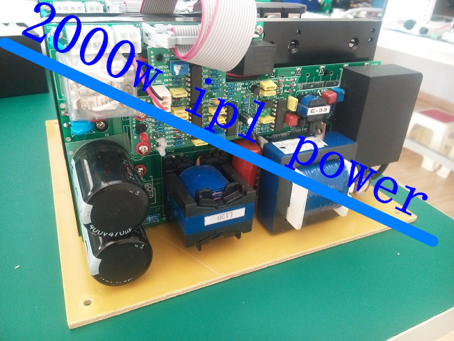 2000w ipl power cartridge elight power source panel