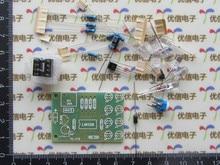Free Shipping!!! electronic  LM358 breathing light parts / Electronics DIY Fun Production Suite 8 5MM LED blue flashing kit
