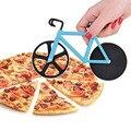 Alta Calidad de La Bicicleta Bicicleta de Cortador de Pizza Cortador de Pizza de Acero Inoxidable de Doble