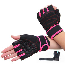 Crossfit Gloves Gym Body Building Training Sports Fitness WeightLifting Gloves Fitness Exercise Training Wrist for Men Women