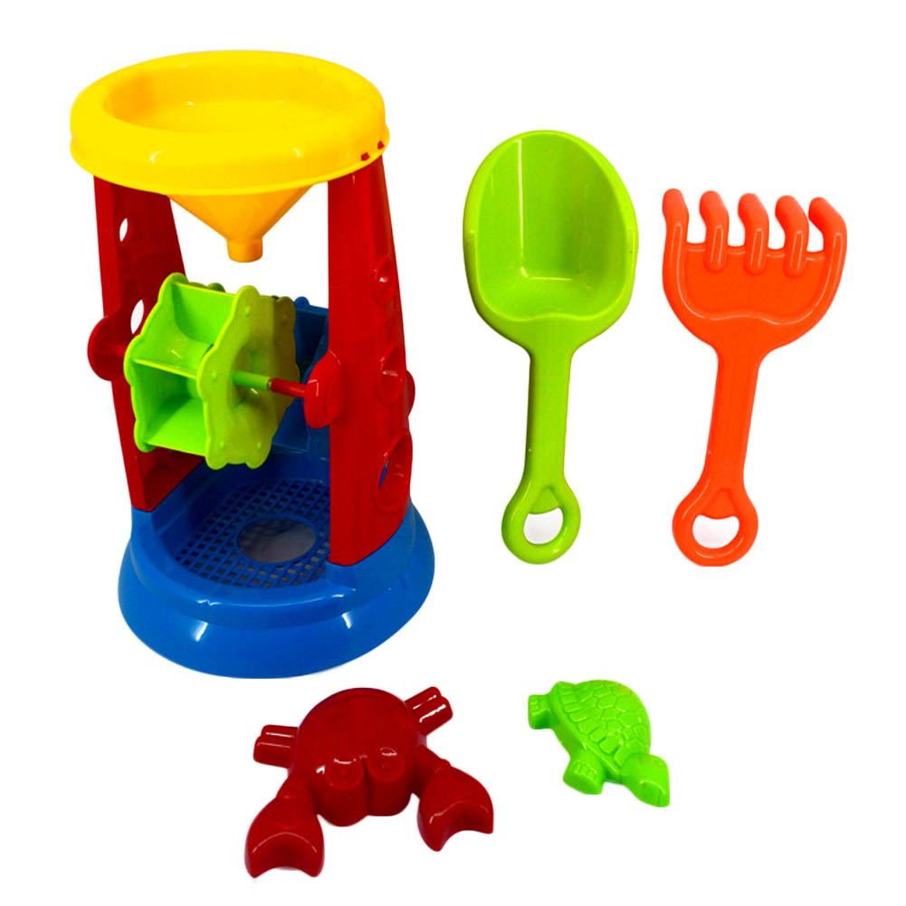 Play Toys Com : Pcs kids funny tools sand play toys set hourglass water