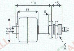 Датчик уровня жидкий пластиковый Поплавковый переключатель L: 100 мм Быстрая Экспресс