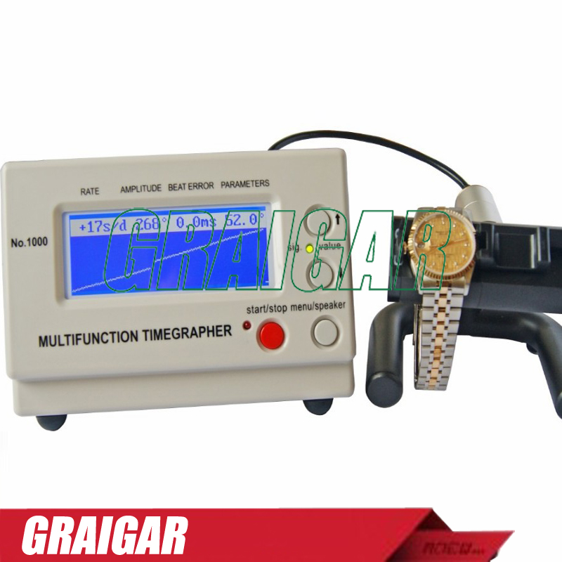 Mechanical Watch Timing Machine watch tester Timegrapher No.1000 for rolex, watch makers and watch hobbyists