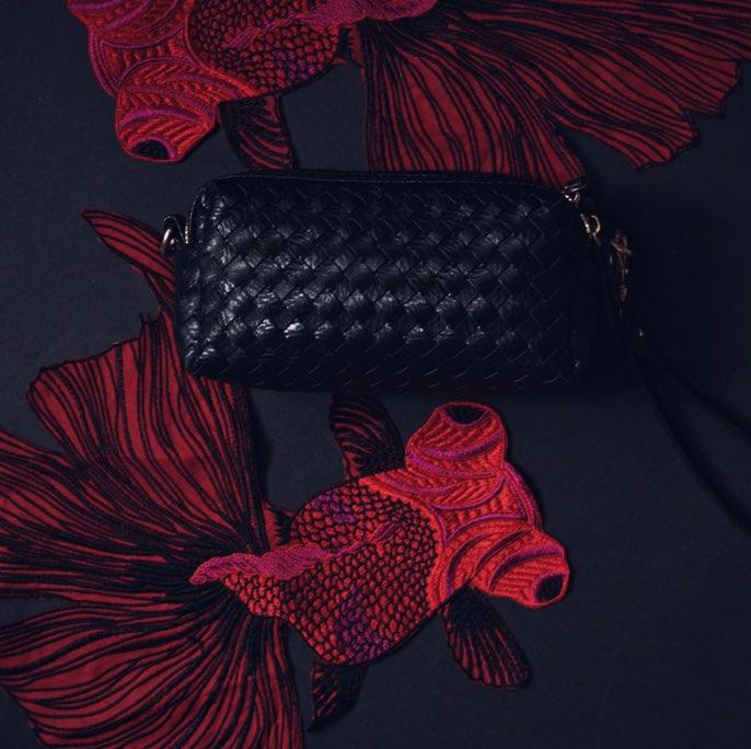 Универсальная черная сумочка — клатч с Алиэкспресс