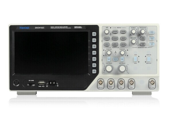Hantek DSO4102C Digital Storage Oscilloscope 2CH 100MHz Scopemeter with 1 Channel Arbitrary/Function Waveform Generator цены