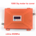 2016 new cdma 850mhz booster 22 dbm gain 65dbi LCD display CDMA booster repeater signal amplifier booster CDMA 850 repeater