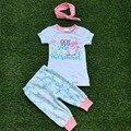 Ropa para niños niñas ropa de boutique niñas trajes verano I am 99% seguro soy una sirena trajes con diadema