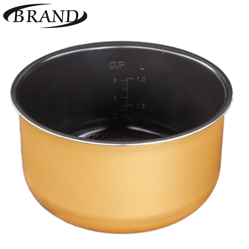 Inner pot 701 bowl pan for multivarka, ceramic coating, 3L, measure scale