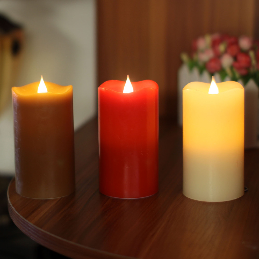Multi Wick Candles Online Buy Wholesale Flameless Moving Wick Candles From China