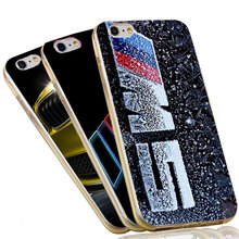 Ultra Thin Silicone Case with BMW For iPhone