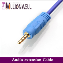 Millionwell 3 5MM Extension Earphone Headphone Audio Splitter Cable Adapter Male to Female 1 5m 3m