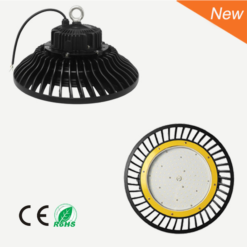 LED 200W 220W High UFO Bay Light Mining Lamp LED Industrial Lamp IP65 200W 22000LM 90 305V Fedex Free shipping