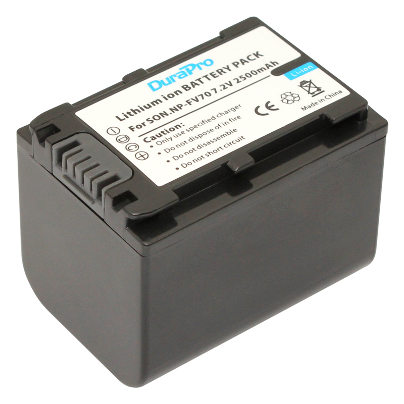 1pc NP-FV70 NP FV70 NPFV70 Rechargeable Li-ion Camera Battery For Sony HDR-CX230 HDR-CX150E HDR-CX170 CX300 FV50 FV60 NP-FV30