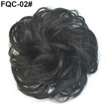 Женщины  'ы Грязный Волнистые Наращивание Волос Булочка Упругие Волосы Tie Парики Парик Волос Кольцо