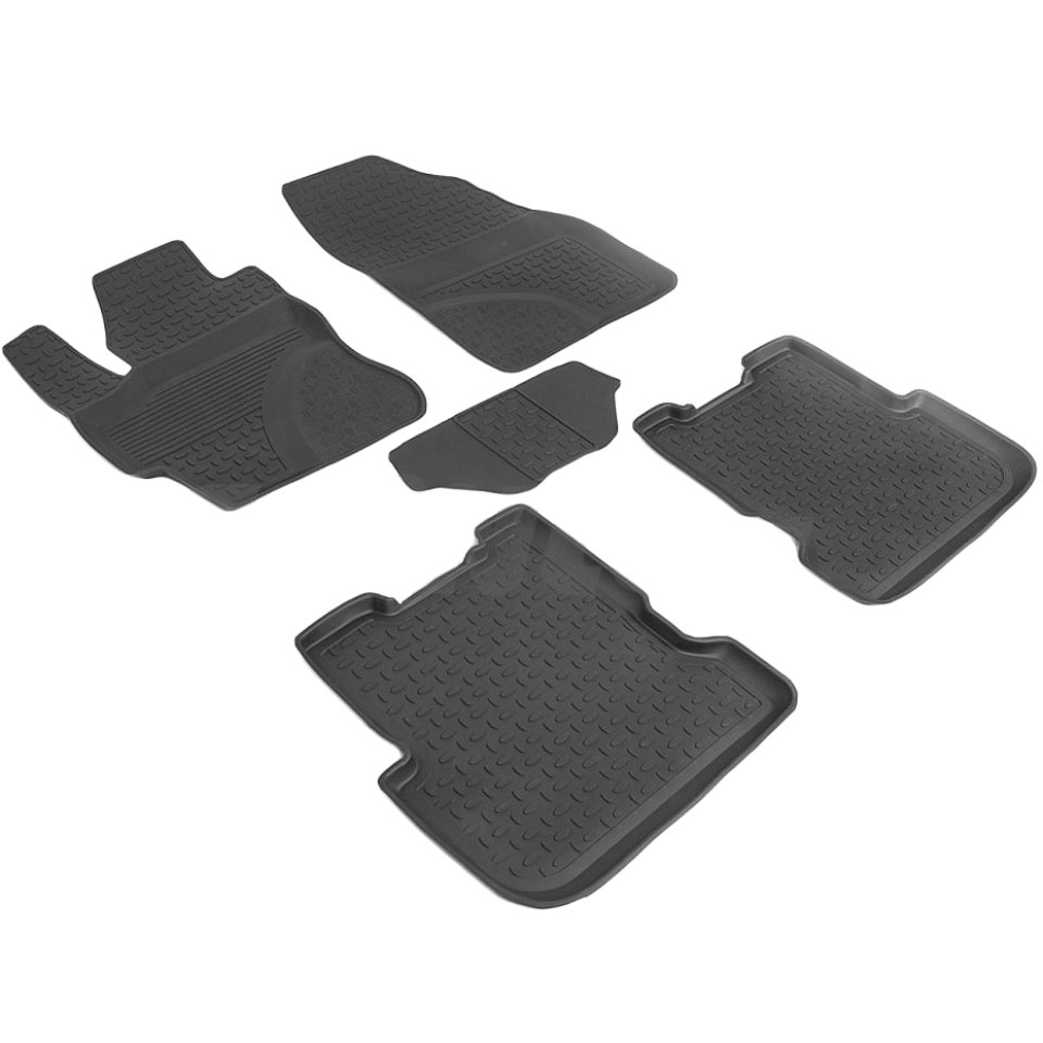 купить Rubber floor mats for Mazda 3 BK 2003 2004 2005 2006 2007 2008 2009 Seintex 86194 онлайн