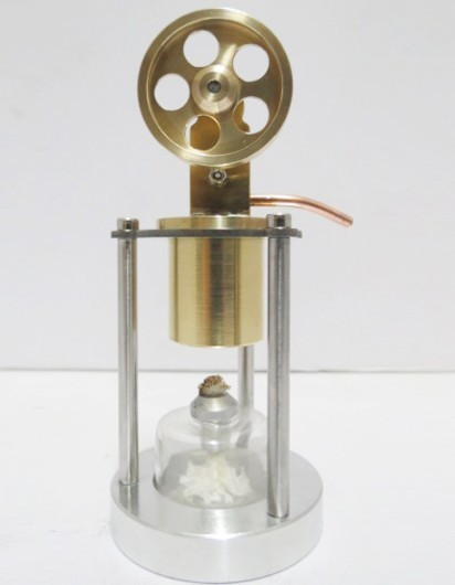 Stirling Engine All copper engine model single cylinder