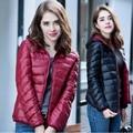 1PC 2016 Winter Duck Down Jacket Women Casual Fashion Hooded Coat Women Abrigos Mujer Jaqueta Feminina Reversible ZZ3390