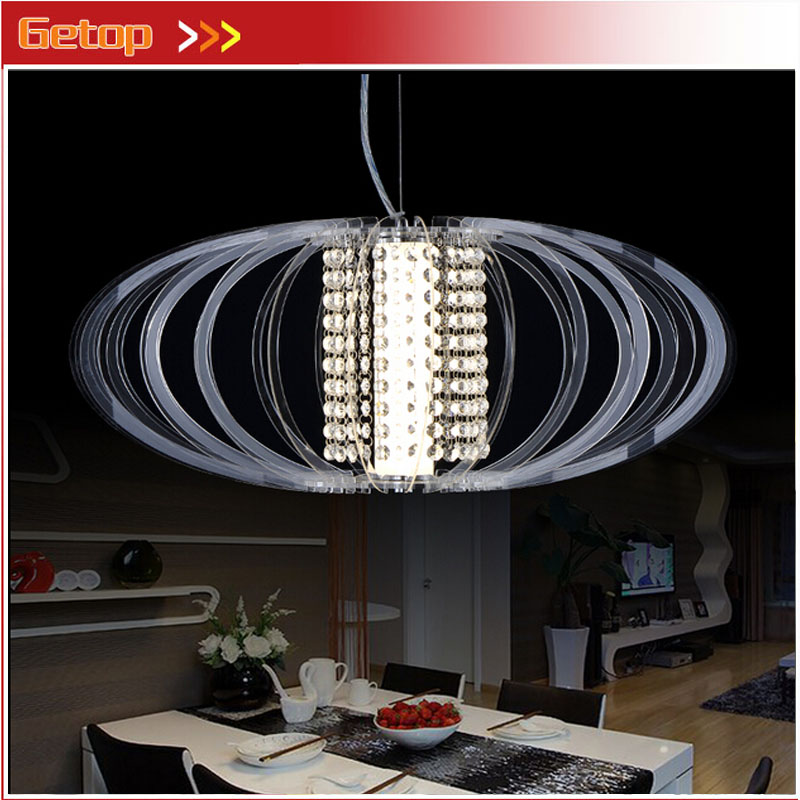 ZX Modern Acryl Droplight Fish-line LED Chip Engineering Pendant Lamp Fixture Sitting Room Bedroom Dining Room Leisure Lights zx modern quadrate k9 crystal fish line type gu10 three color led chandelier pyramid shape lamps stair sitting room bedroom