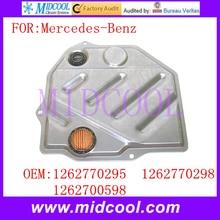 Фильтр передачи использования OE No. 1262770295 для mercedes-benz