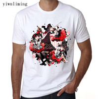 Yiwuliming Funny Designer T Shirts Tops Tee Casual O Neck Men S Babymetal Heavy Metal T