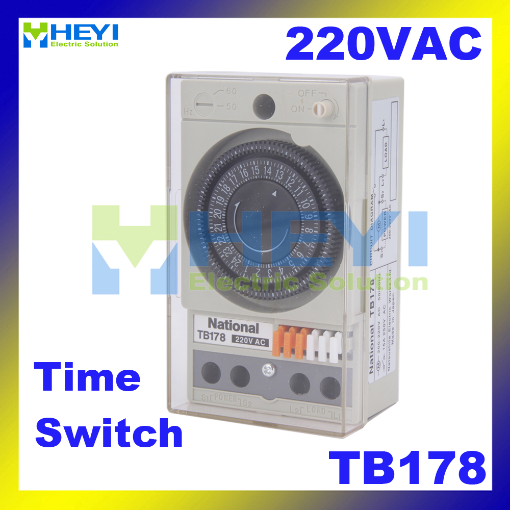 Mechanical timers TB178 microcomputer control switch time controller TIME SWITCH hzdz microcomputer temperature control switch black 5v