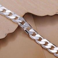gssph246-8 / бесплатная доставка, 8 мм серебряный браслет, ювелирные изделия, мужчины классический браслеты, никель противоаллергическое, высокое качество
