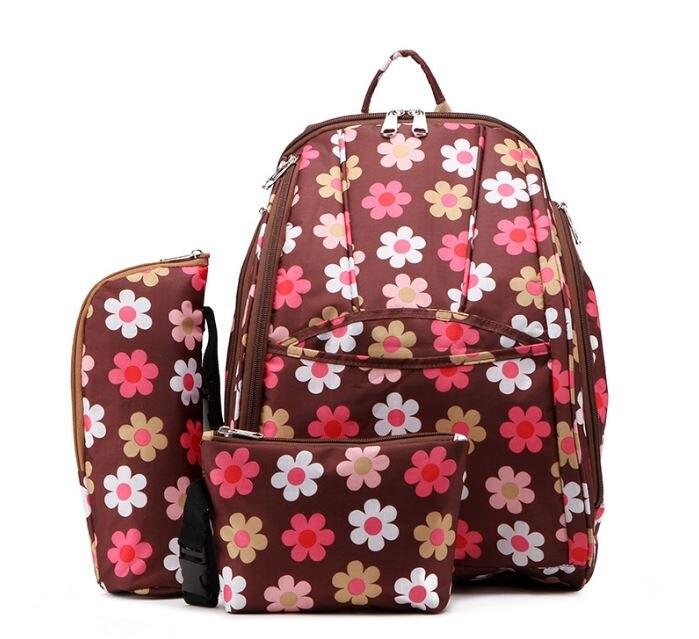 Zīmola autiņbiksīšu soma Liela ietilpība māmiņa maternitātes autiņbiksīte bērnu ceļojuma mugursoma organizatora māsu somas ratiņu mātes soma