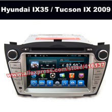 Car Audio DVD GPS Android Support 3G Wifi Bluetooth TV SWC Multimedia Player For HYUNDAI Ix 35 2009 2010 2011 2012 2013 Tucson