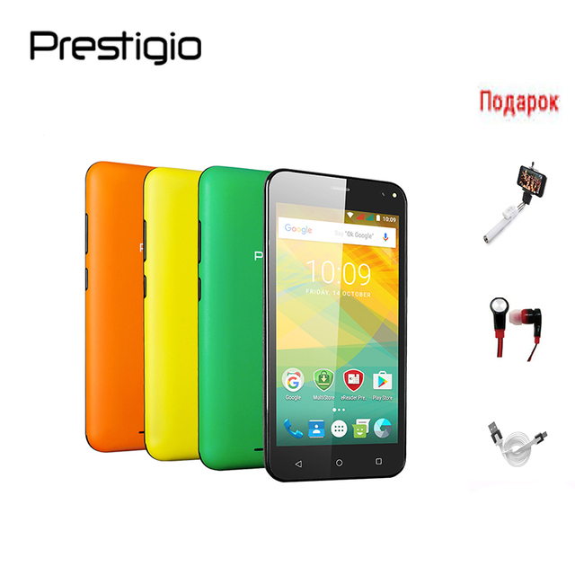Prestigio PSP3537DUO Wize NV3 5.0 MT3537DUO Смартфон Android 6.0 Телефон 1G ОЗУ 8G ПЗУ Двойная камера 2MP / 8MP поддерживает двух SIM-карту 1280x720