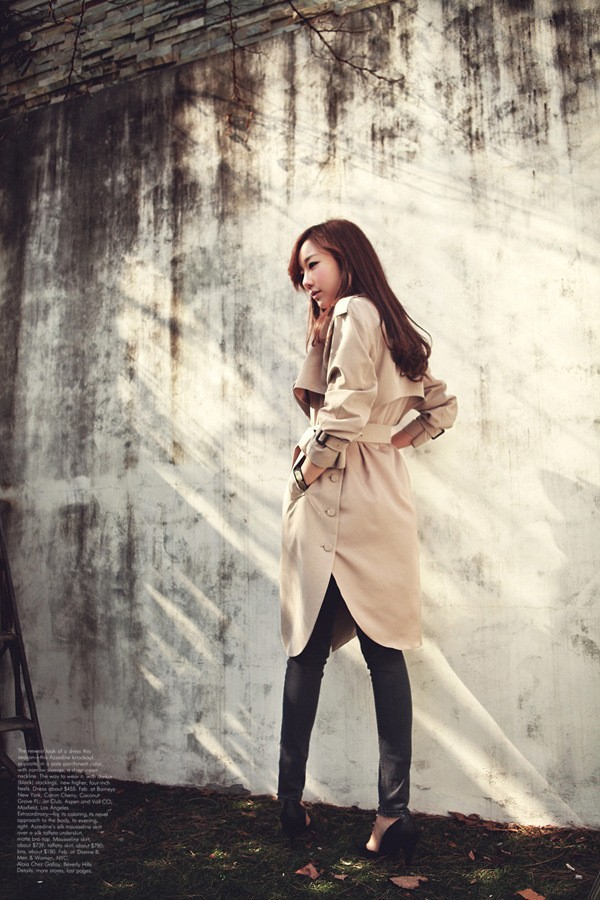 JAZZEVAR 19 new spring autumn fashion Casual women's khaki Trench Coat long Outerwear loose clothes for lady with belt 850115 10
