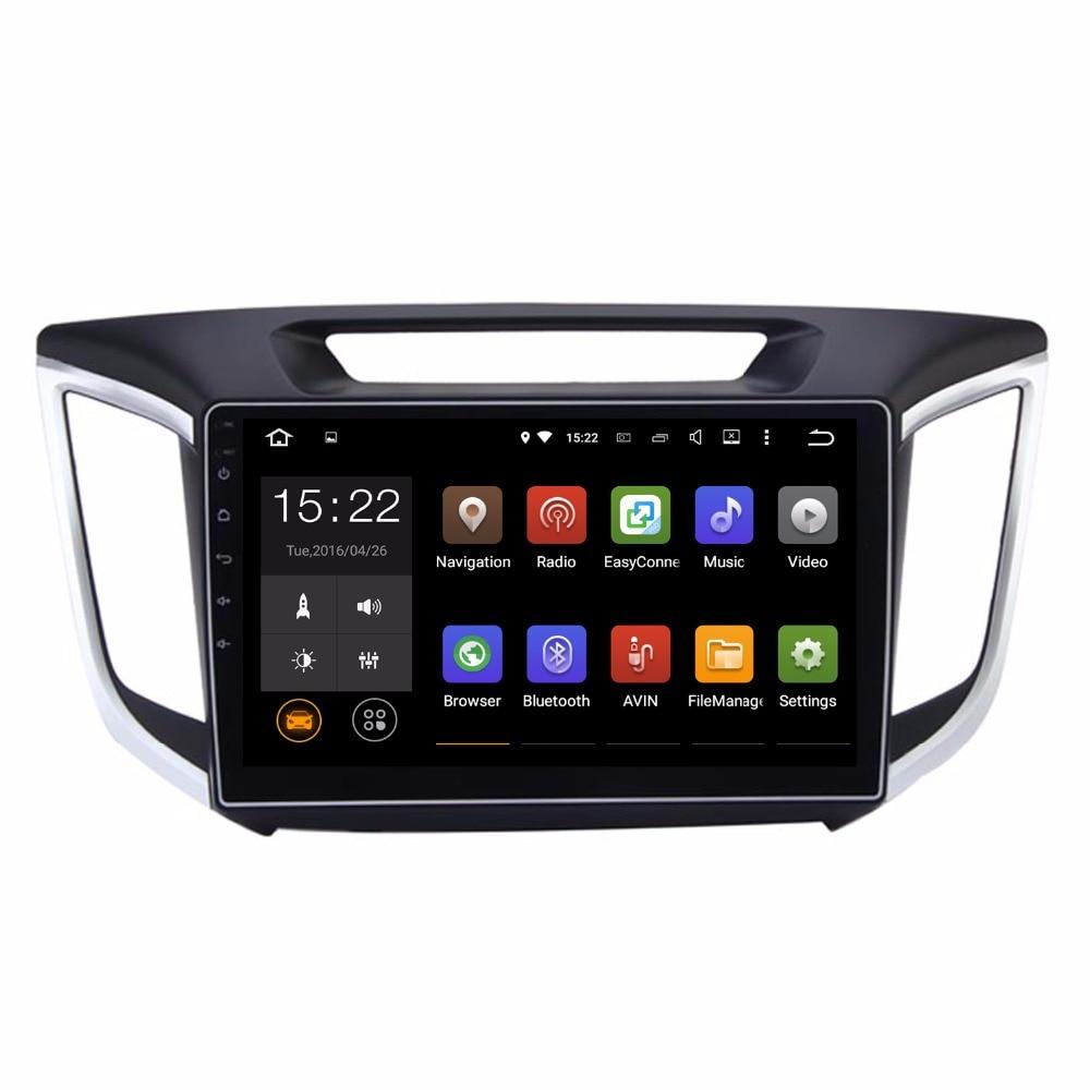 Car Head Unit GPS Navi For Hyundai Creta IX25 2DIN