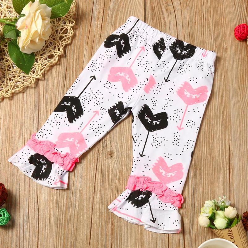 04dbd412491ba8 2 6 jaar Baby Mooie Meisjes zomer Roze kleding Peuter Kids Baby Meisjes  Outfit Kleding Print T shirt + Cropped Broek Broek 1 set in 2-6 jaar Baby  Mooie ...