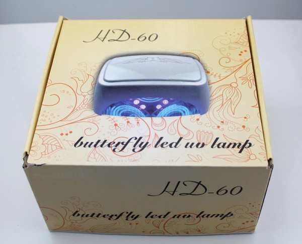 60W CCFL LED nail lamp with fan 8