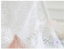 Sexy push up bra briefs set romantic lace wireless cup women bra set white tube top design underwear thin lingerie set