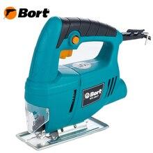 Лобзик электрический Bort BPS-500-P (Мощность 400 Вт, максимальная глубина пропила дерева 55 мм, регулировка угла пропила)