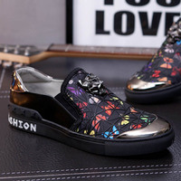 NEW Shoes Men Fashion Style Men Casual Shoes Genuine Leather Men Flat Shoes Best Quality Zapatos