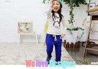 бесплатная доставка мультфильм дети футболка мальчиков и девочек'cotton мода рубашка cl01110