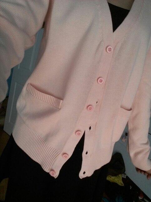 50239426984 Japanese School Jk uniforms cardigan outerwear sweater 100% cotton ...