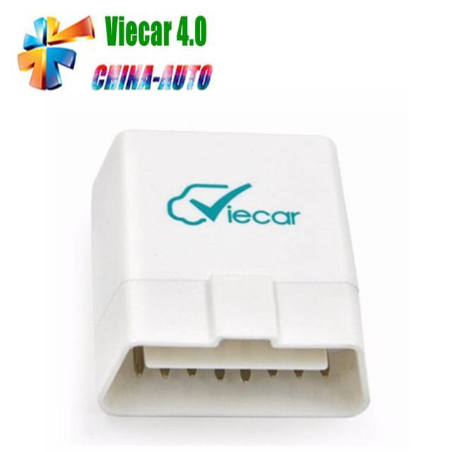 2016 Más Reciente ELM 327 Tanto Para IOS y Android Viecar 4.0 Bluetooth ELM327 OBD2 Escáner para multi-marcas Viecar 4.0