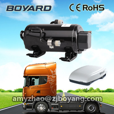 BOYARD 24V dc air conditioner compressor for truck sleeper cabin air cooler system made in china boyard 12 24v compressor of portable air conditioner for cars portable freezer portable drink cooler