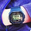 2016 SANDA Hombres Del Reloj de Moda G Estilo Impermeable Militar Deportes Relojes de Choque de Los Hombres de Lujo Del Cuarzo LED Digital Relojes de La Gota shipp