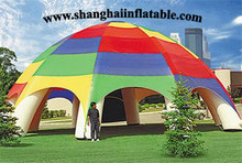 2016 colorful dome inflatable tent camping shelter sun shelter with high quality