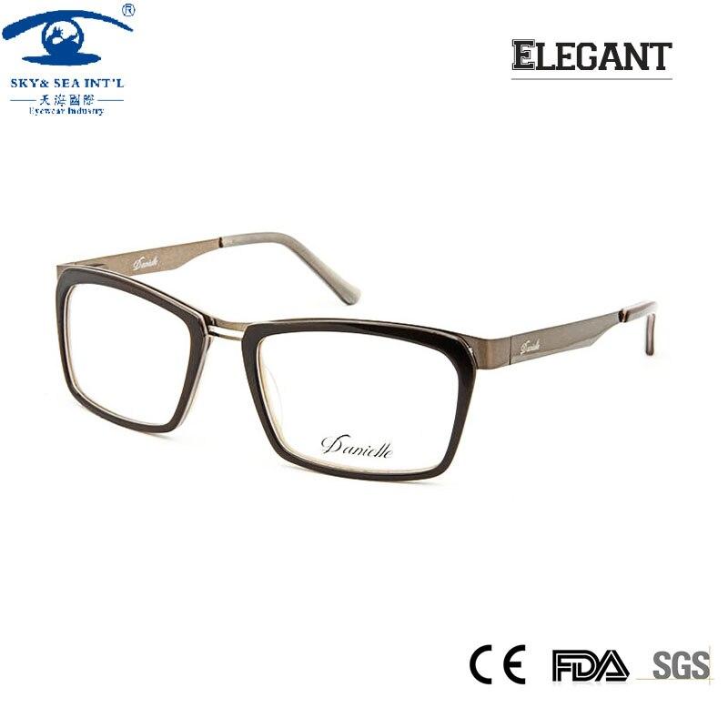 adad49b3f Moda feminina Óculos em Clear Lens oculos de grau Óculos Mulheres Semi-sem  aro óculos de Miopia óculos de Armação de Prescrição Óculos