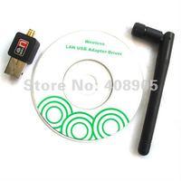 новые мини USB-адаптер WiFi 150 беспроводной адаптер немного 150 м сетевой карты 802.11 П / Г / Б с antenna