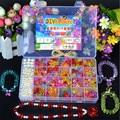 DIY Bracelet Toys Handmade String Beads Kids Toy, Set Puzzle Jewelry Necklace Bracelet Making Baby Educational Toy / Brinquedos