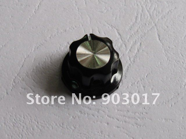 100 шт за лот D 20 мм х 12 мм отверстие диаметр: 6 мм плинтус ручка A01 для Стандартный горшки черный Горячая распродажа высокое качество
