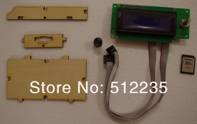 3d Maker контроллер дисплея 3d принтер Ultimaker lcd sd-карта офлайн печать